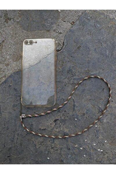 Üniseks Haki Telefon Askısı Charmı