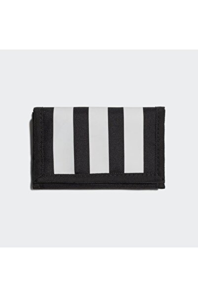 Essentials 3-stripes Cüzdan Siyah Gn2037