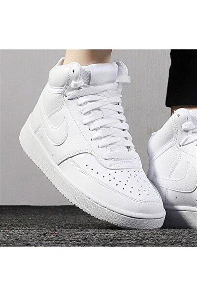 Court Vision Mid Kadın Yarım Boğazlı Sneaker Spor Ayakkabı Cd5436-100
