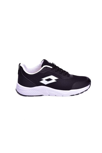 Erkek Siyah Beyaz Yürüyüş Ayakkabı Runny-t1679
