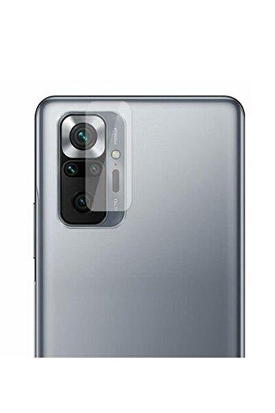Redmi Note 10 Pro Uyumlu Şeffaf 9h Cam Lens Kamera Koruyucu