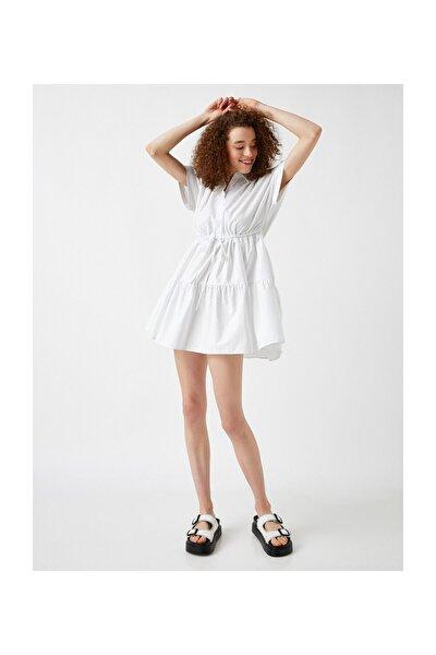 Kadın Beyaz Elbise 1YAL88089OW