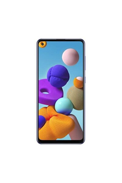 Galaxy A21s 128GB Mavi Cep Telefonu (Samsung Türkiye Garantili)