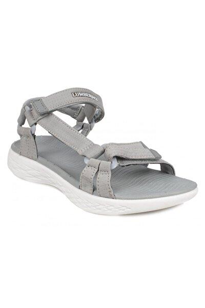 Summery-z Günlük Gri Kadın Sandalet