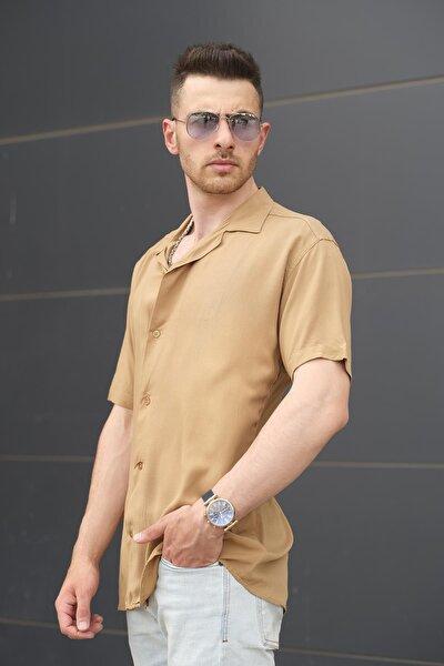 Samson Apaj Yaka Slim Fit Erkek Gömlek