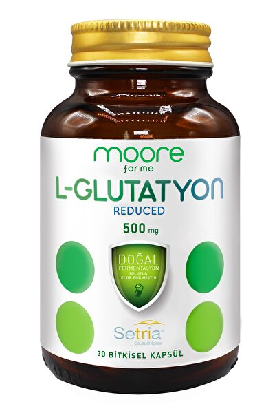 Glutatyon Reduced 500 mg 30 Kapsül Japon Setria