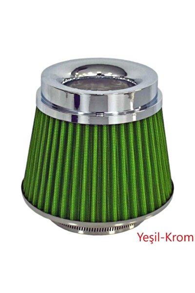 Carub Ses Ve Performans Arttırıcı Açık Hava Filtresi +6 Hp Yeşil Aparatlı Üniversal