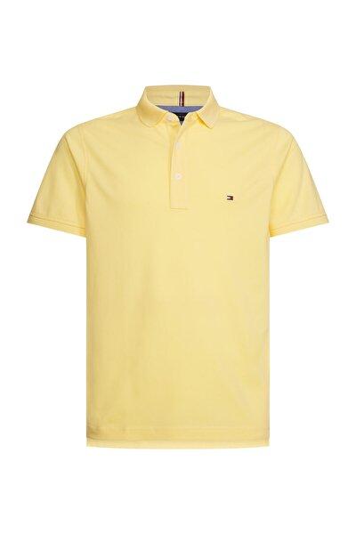 Erkek Sarı Polo Yaka T-Shirt Tommy Slim Polo MW0MW10764