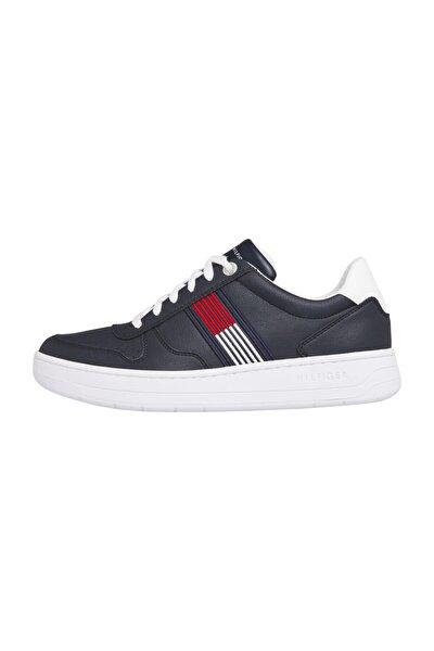 Erkek Mavi Sneaker Basket Low Cupsole Sneaker FM0FM02843