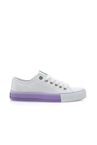 Kadın Beyaz-lila  Spor Ayakkabı 30176