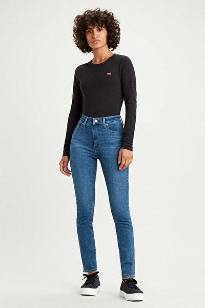 Kadın Mavi 721 Yüksek Bel Skinny Jean 18882-0388
