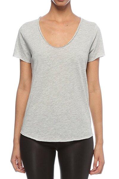Kadın Gri T-Shirt URB001