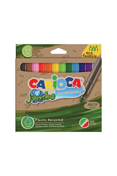 Eco Famıly Jumbo Süper Yıkanabilir Keçeli Boya Kalemi 12`li - 43101