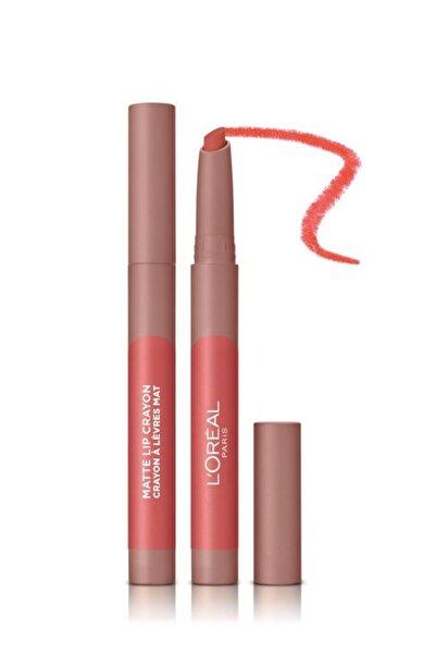 Infaillible Matte Lip Crayon Kalem Mat Ruj - 105 Sweet and Salty