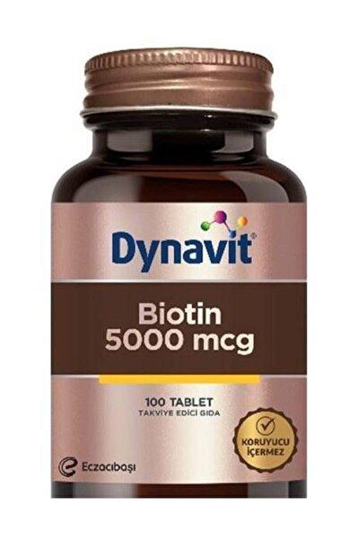 Biotin 5000 Mcg 100 Tablet