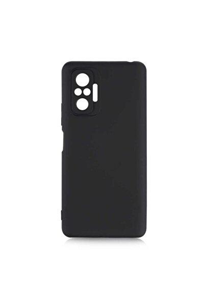 Redmi Note 10 Pro Kılıf Kadife İç Yüzey Yumuşak Dokulu Kamera Korumalı Silinebilir Silikon