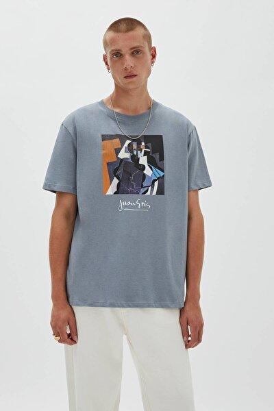 Juan Gris Görselli T-Shirt