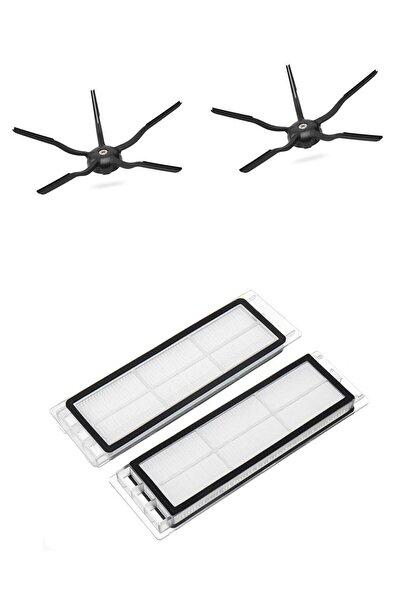 S5 S5 Max S6 S6 Pure Uyumlu Yeni Nesil Hepa Filtre 5 Kollu Yan Fırça Set