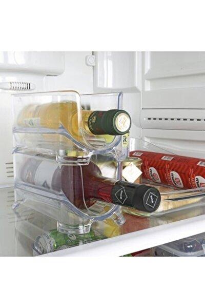 2'li Buzdolabı Içi Pratik Geçmeli Rafı