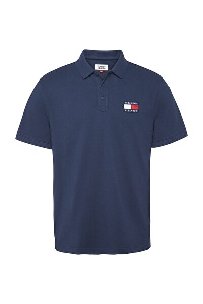 Erkek Tj Tommy Badge Polo T-shirt