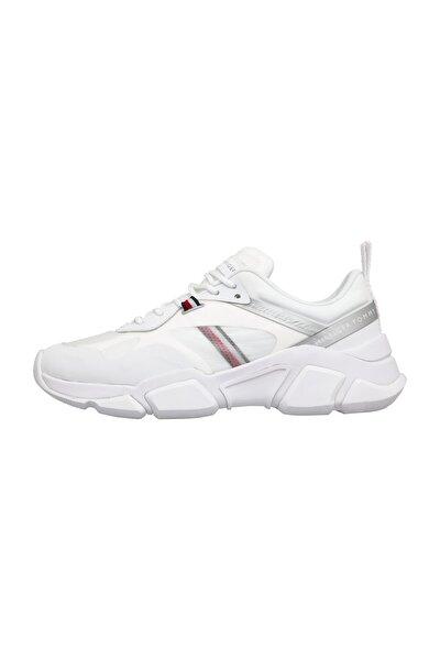 Kadın Beyaz Sneaker Technıcal Chunky Tommy Sneaker FW0FW04996