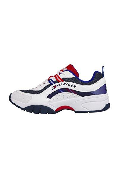 Erkek Beyaz Sneaker Herıtage Tommy Jeans Runner EM0EM00482