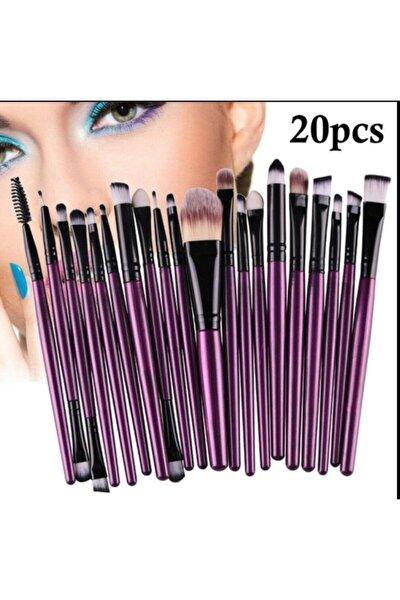 Farklı Farklı Fırça Seti-mor 20 Li Paket
