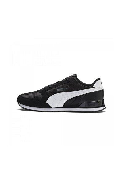 St Runner V2 Mesh Siyah Spor Ayakkabı (366811-05)