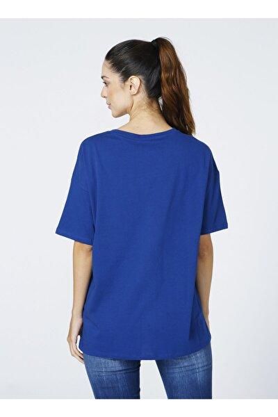 T-shirt, S, Lacivert