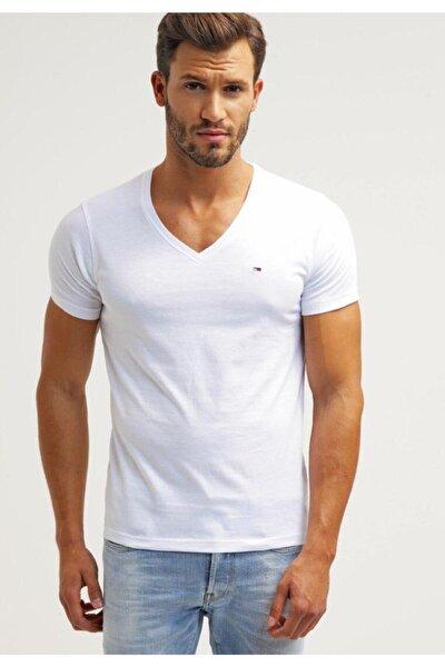 V - Neck Men T-shirt