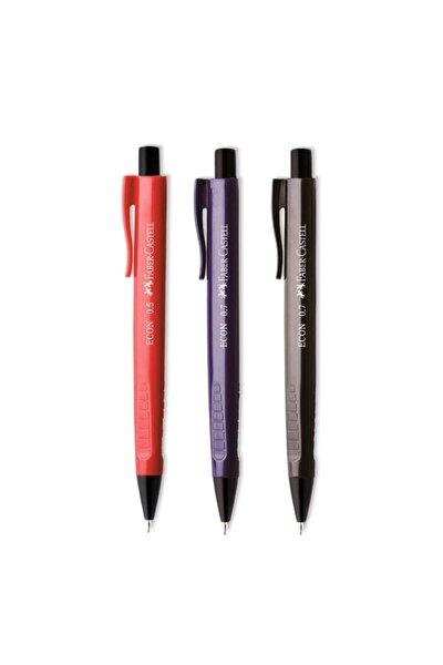 Lacivert Econ Koyu Renkler Versatil 0.7 Uçlu Kalem