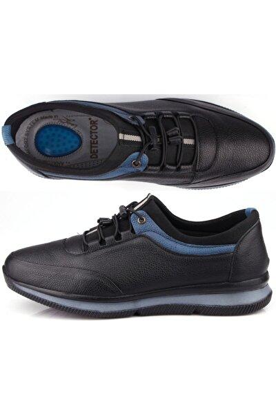 Iç Dış Hakiki Deri Tam Ortopedik Komfort Jel Tabanlı Günlük Erkek Ayakkabı