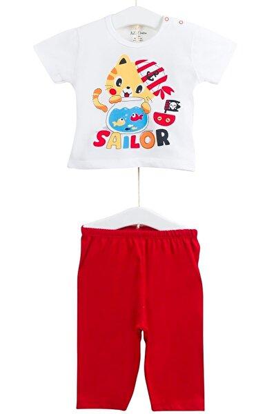 Kız Çocuk Baskılı Kısa Kollu Pijama Takımı AZZ009421