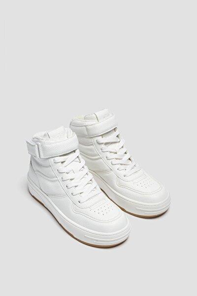 Retro bilekli spor ayakkabı