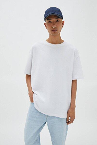 Relaxed Fit Premium Kumaş T-Shirt