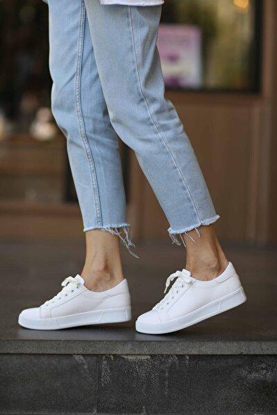 Kadın Beyaz Brean Spor Ayakkabı