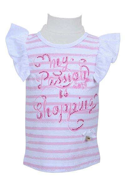 Beyaz Kız Bebek T-shirt 71m2pfa52