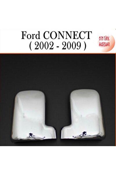 Ford Tourneo Connect Krom Ayna Kapağı 2001-2009 Sağ Sol 2 Parça