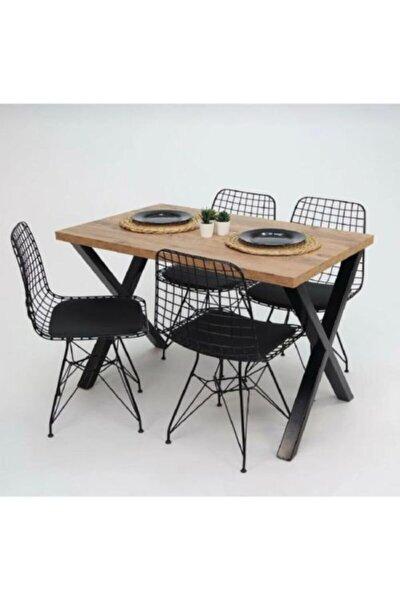 Çapraz Ayaklı Mutfak Masası