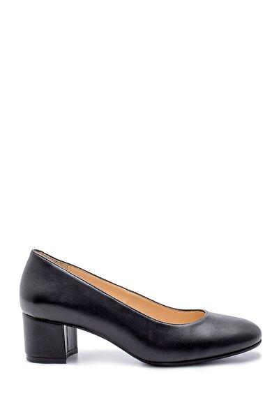 Kadın Siyah  Kalın Topuklu Ayakkabı