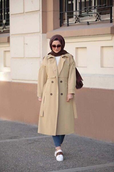 Kadın Camel Trençkot 10938452