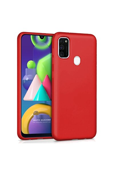 Samsung Galaxy M21 - M30s Yumuşak Silikon Kılıf Kırmızı