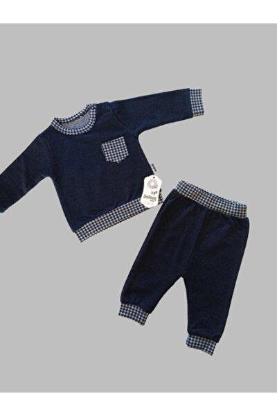 Erkek Bebek Lacivert 2'li Takım