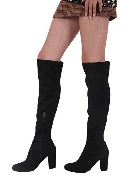 Siyah Kadın Çizme CZME0110