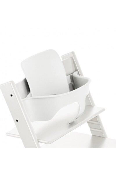 Tripp Trapp Ahşap Mama Sandalyesi Babyset / Kırık Beyaz