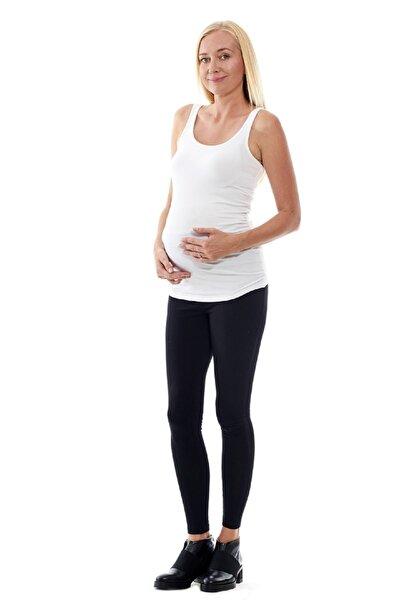 Kadın Beyaz Hamile T-Shirt Bm347