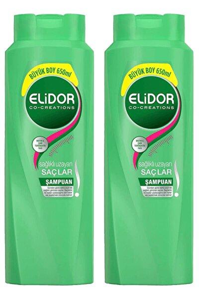 Elıdor Şampuan Sağlıklı Uzayan Saçlar 650 Ml ( 2 Adet )