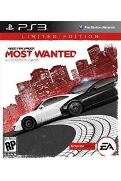 Ps3 Need For Speed Most Wanted - Orjinal Oyun - Sıfır Jelatin
