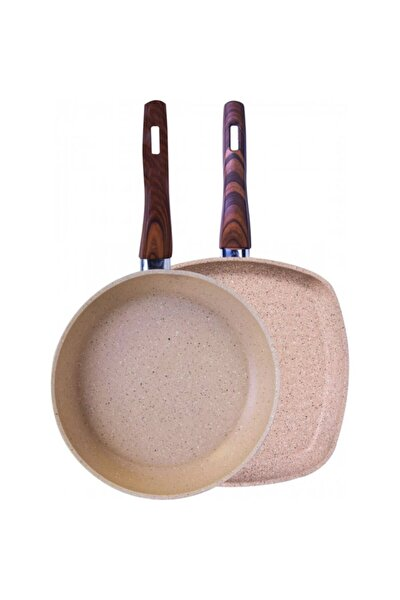 Forest Bio Granit Grill Tava Set