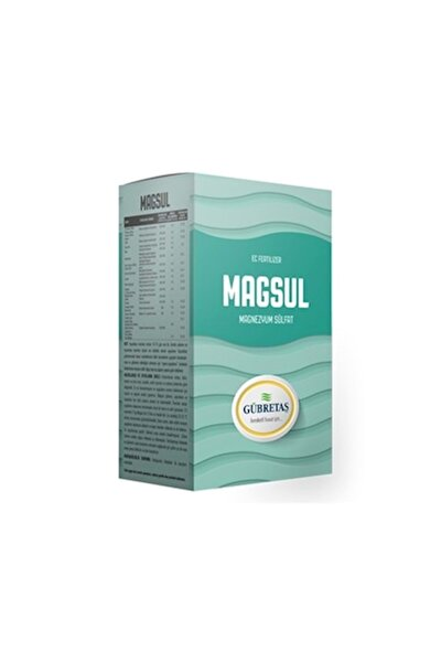 Magsül Magnezyum Sülfat (1 Kg) Orjinal Ürün Hologramlı Paket